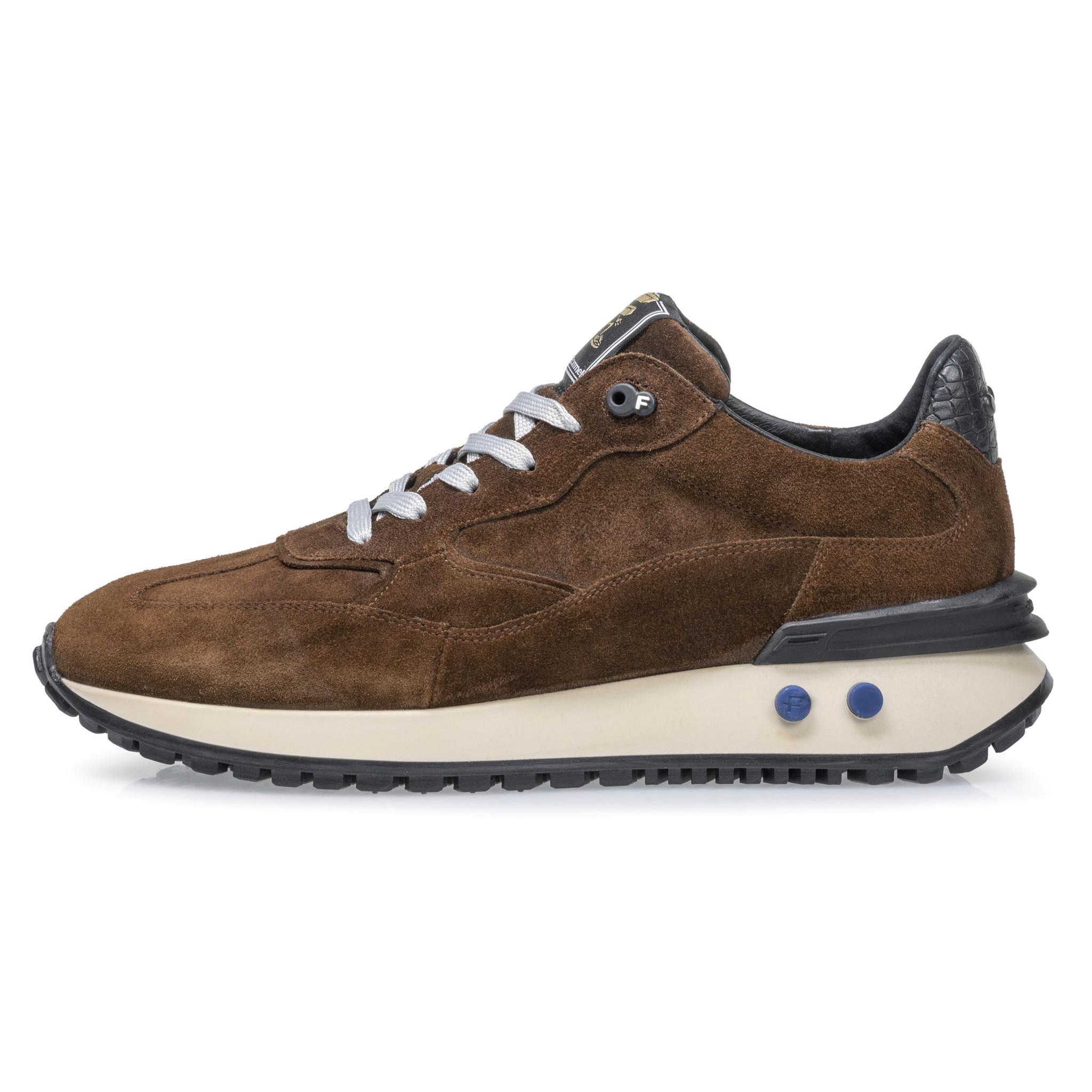 Floris van Bommel heren Floris van Bommel 16484/02 Sneaker Cognac