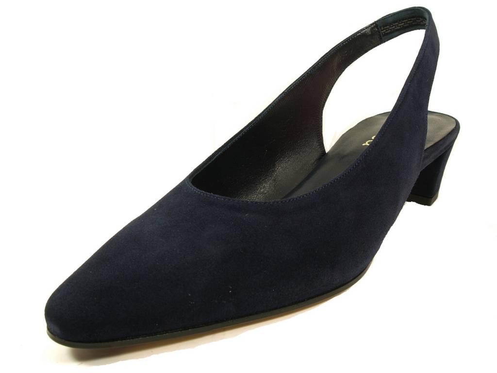 Panara Panara slingback 3866 blauw suède