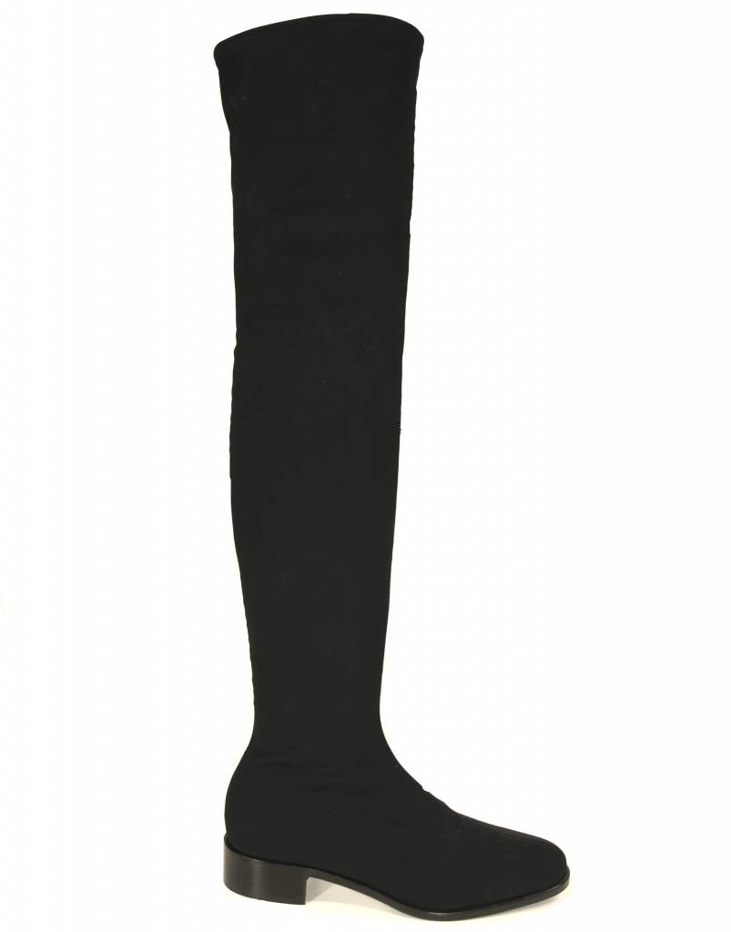 Panara Panara stretchlaars over de knie 2141 zwart