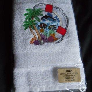handdoek strandfiguren