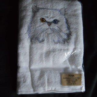 handdoek poes