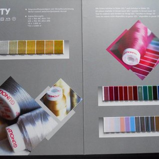 gunold kleurenkaart mety