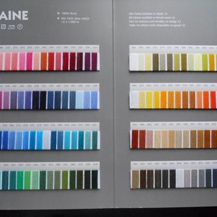 gunold kleurenkaart filaine