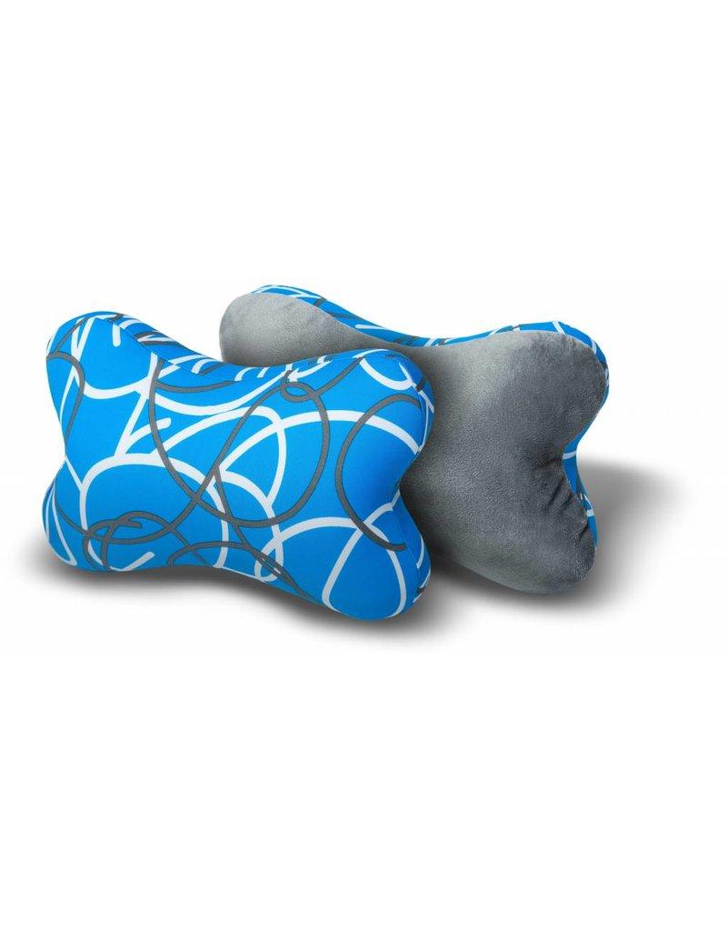 Kuschel-Maxx - Knochen Linien Blau