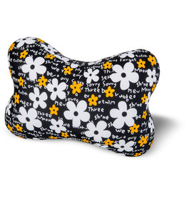 Kuschel-Maxx Kuschel-Maxx - Knochen Flowers Black