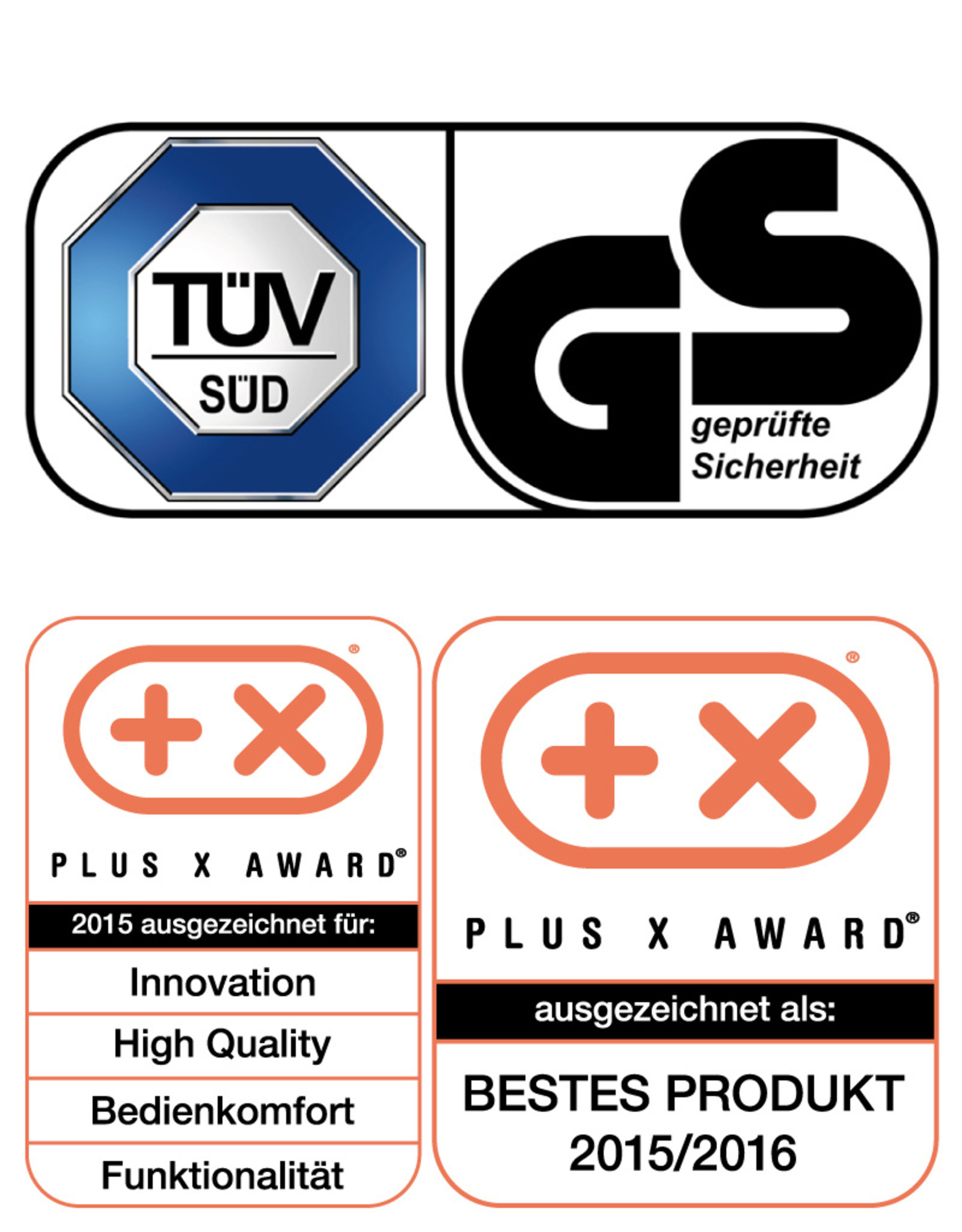 INVITALIS UK Vitalymed Flexi - Schwarz mit UK Adapter