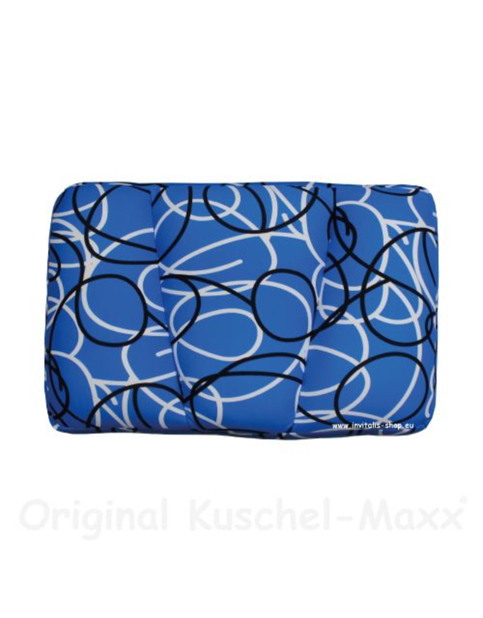 Kuschel-Maxx Kuschel-Maxx - Schlafkissen Linien Blau