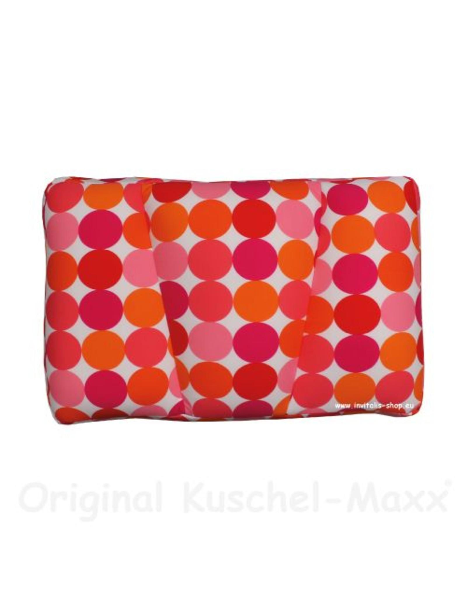 Kuschel-Maxx Kuschel-Maxx - Schlafkissen Punkte Orange