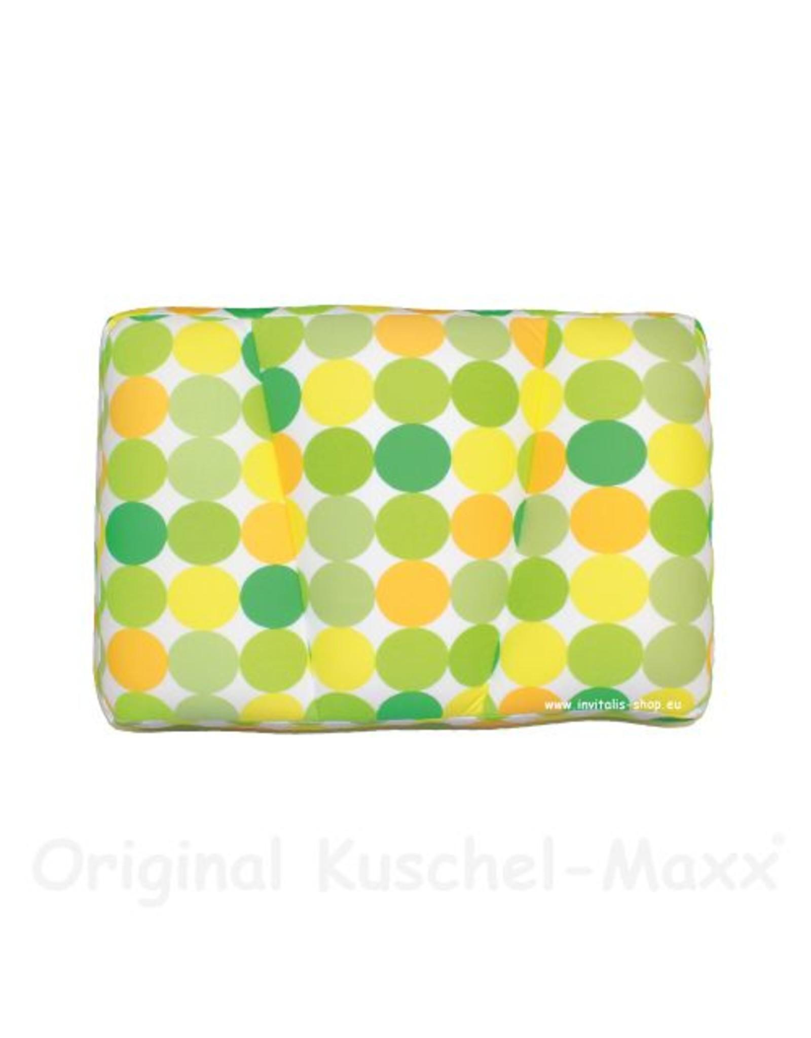 Kuschel-Maxx Kuschel-Maxx - Schlafkissen Punkte Gelb