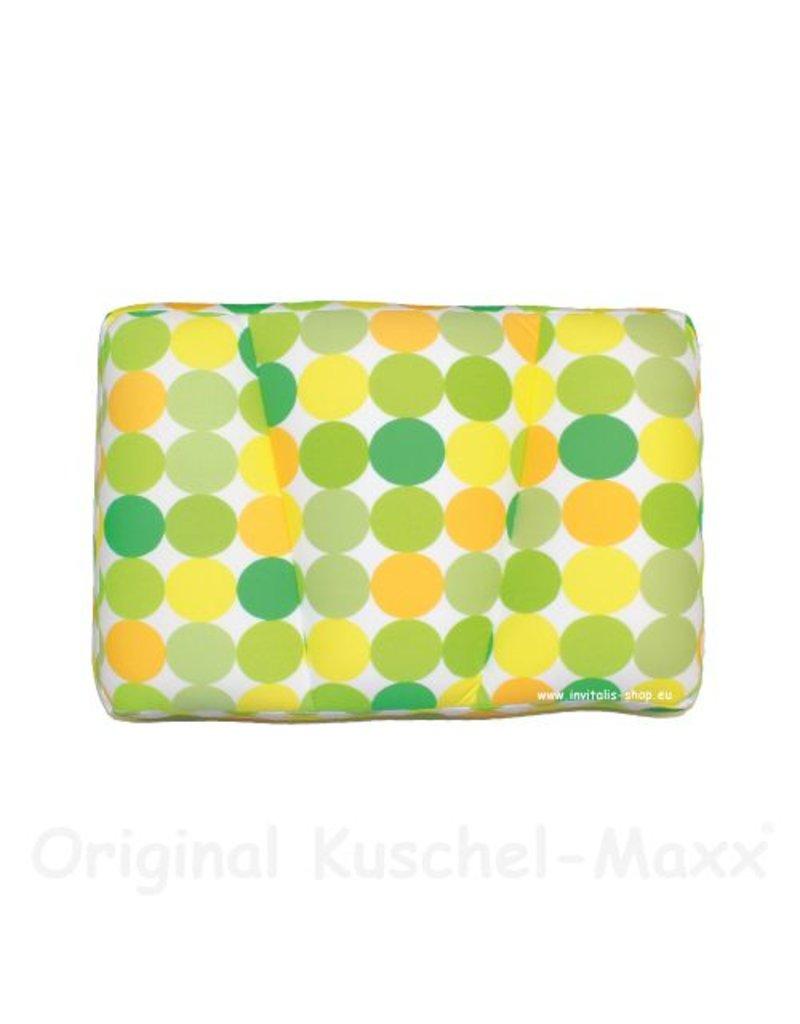 Kuschel-Maxx - Schlafkissen Punkte Gelb