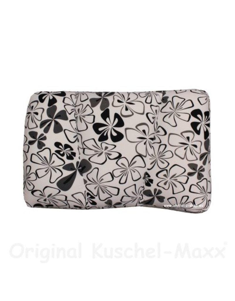 Kuschel-Maxx - Sleeppillow Flowers Nero