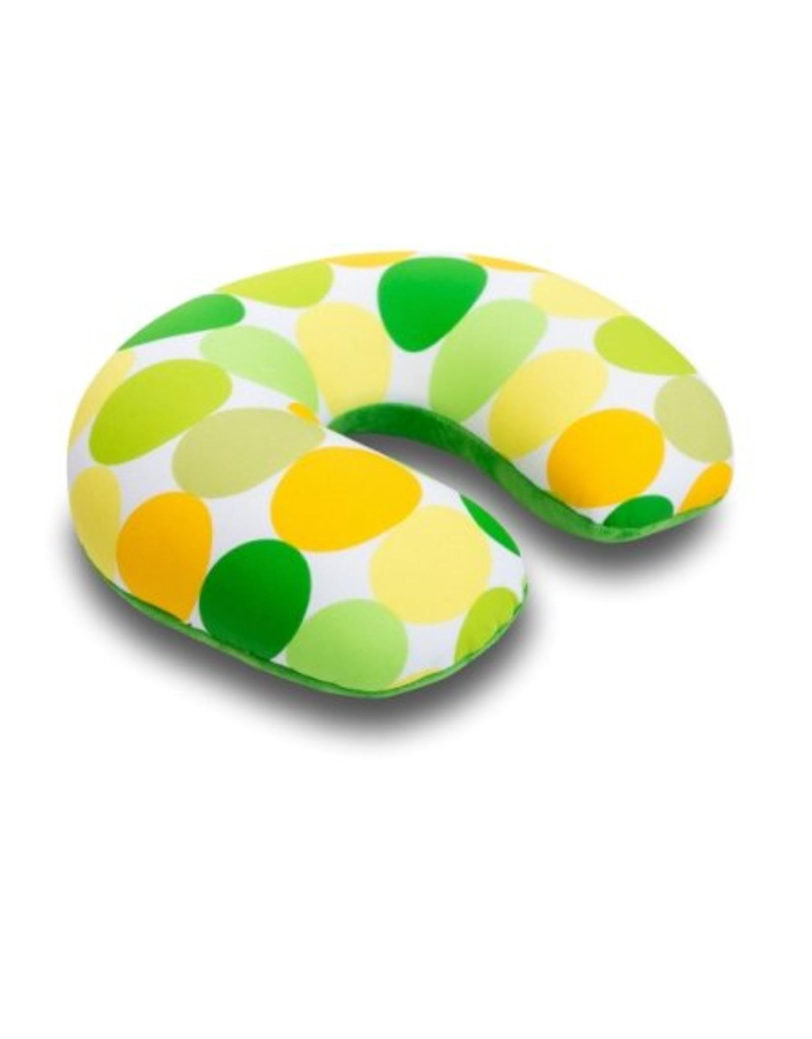 Kuschel-Maxx Kuschel-Maxx - Nack cushion Dots Yellow ohne Knopf