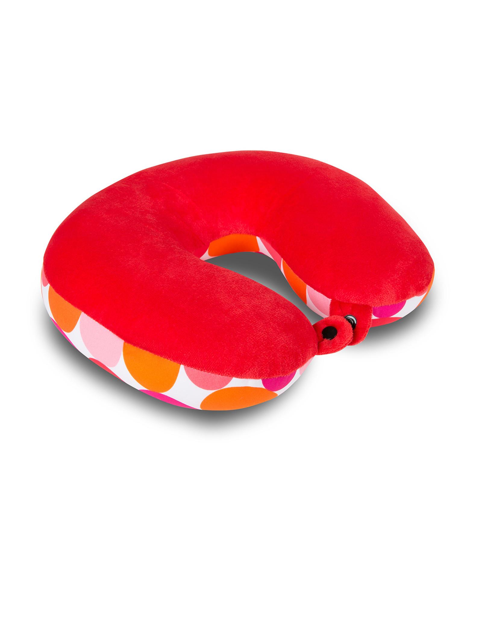 Kuschel-Maxx Kuschel-Maxx - Nackenhörnchen Punkte Orange