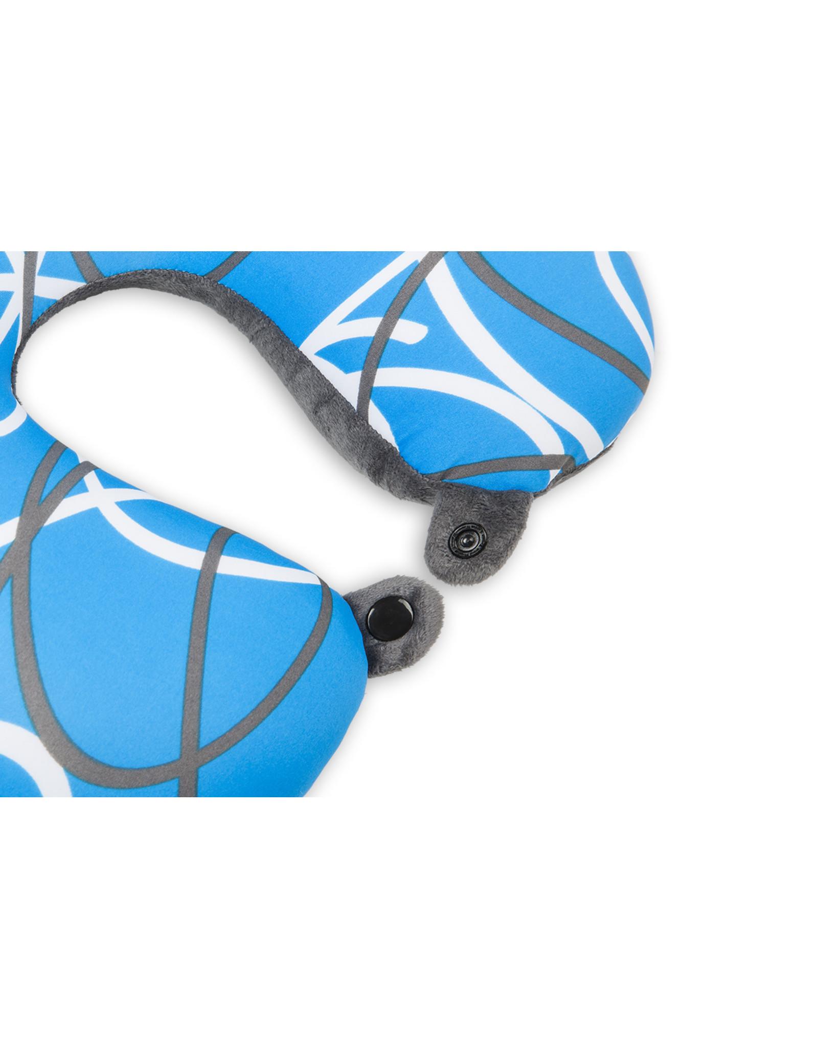 Kuschel-Maxx Kuschel-Maxx - Nack cushion Lines Blue