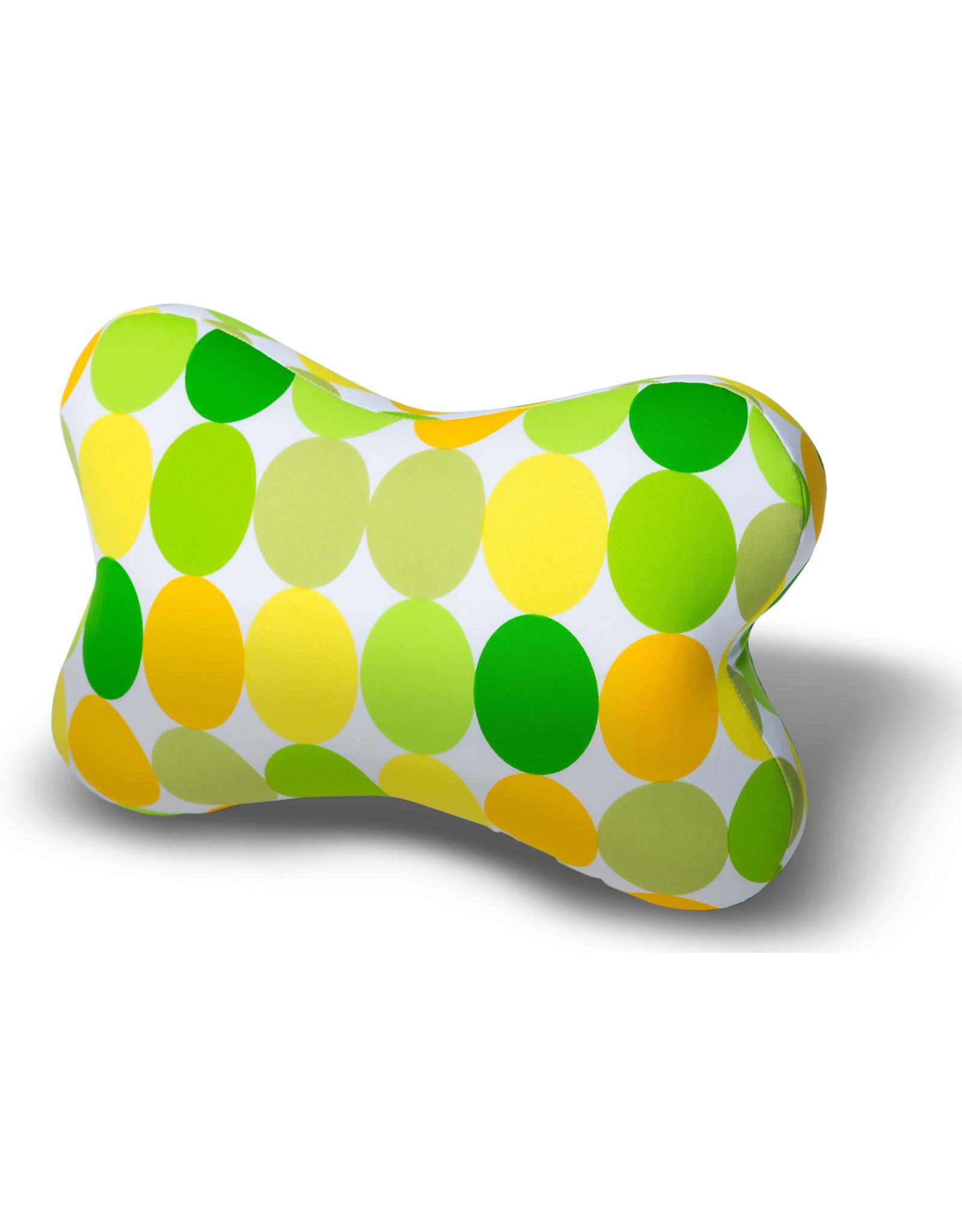 Kuschel-Maxx Kuschel-Maxx - Knochen Punkte Gelb