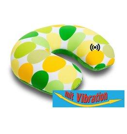 Kuschel-Maxx Kuschel-Maxx - Nack cushion Punkte Gelb - Vibration