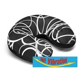 Kuschel-Maxx Kuschel-Maxx - Nack cushion Linien Schwarz - Vibration
