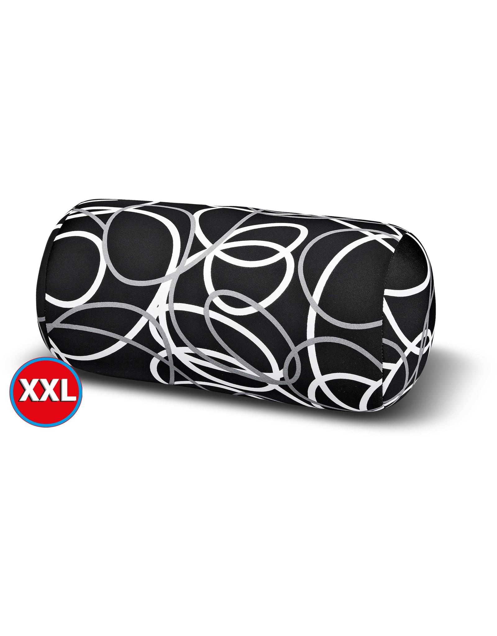 Kuschel-Maxx Kuschel-Maxx - Linien Schwarz XXL