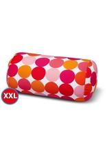 Kuschel-Maxx Kuschel-Maxx - Punkte Orange XXL