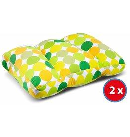 Kuschel-Maxx 2x Kuschel-Maxx - Sleeppillow Punkte Gelb