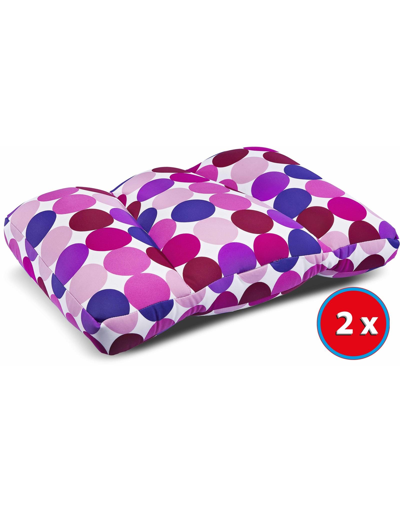 Kuschel-Maxx Kuschel-Maxx - Sleeppillow Dots Violet 2 pcs-Special Offer