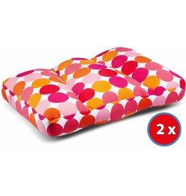 Kuschel-Maxx 2x Kuschel-Maxx - Sleeppillow Punkte Orange