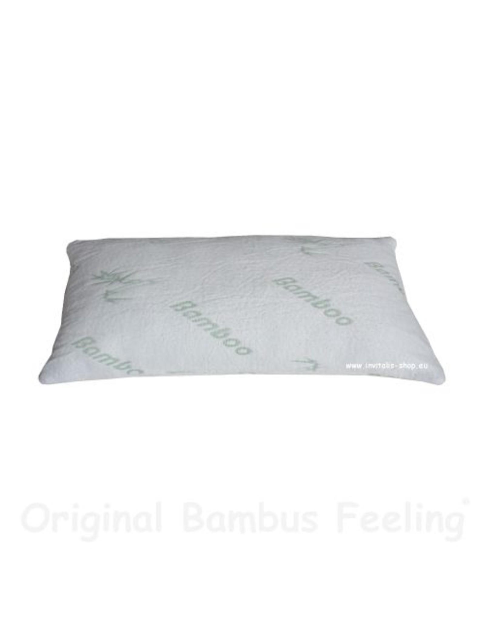 INVITALIS Bambus Kissen - 80x40cm
