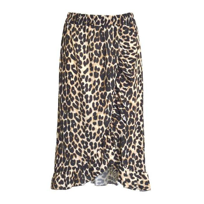 Midi Leopard rok