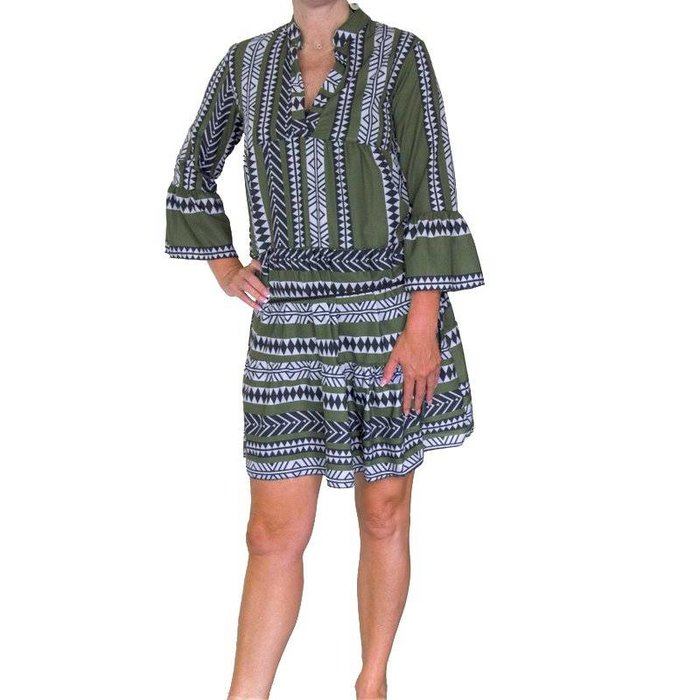 Tuniek dress groen