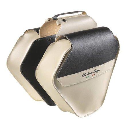 Selle Monte Grappa Bauletto Fashion Crème/Zwart