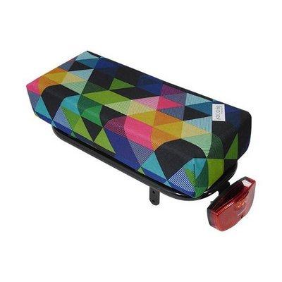 Hooodie Big Cushie Colored Triangles