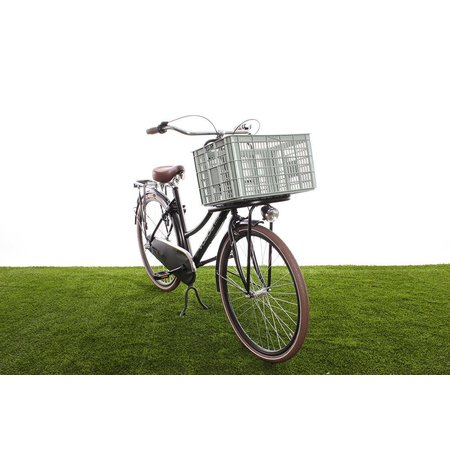 Basil Fietskrat Crate 50L Seagrass