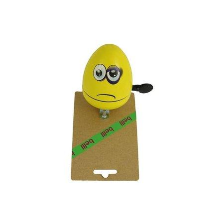 Belll Fietsbel Ei Emoticon Blauw Oog - cadeautje voor op de kinderfiets