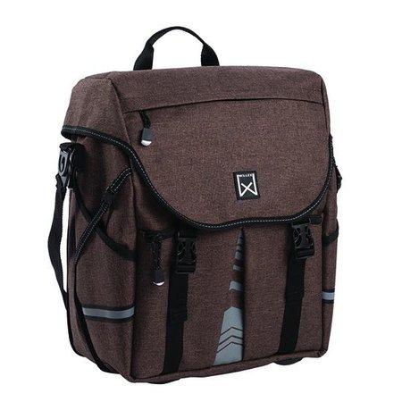 Willex Pakaftas en schoudertas XL 1200 21,5L Bruin