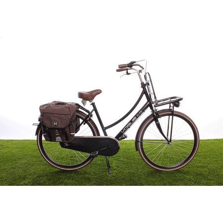 Willex Dubbele fietstas Bagagetas 1200 Bruin - 28 liter