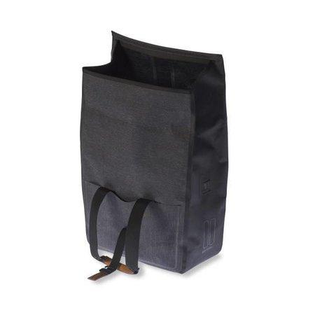 Basil Urban Dry Shopper/pakaftas Charcoal mêlee 20L