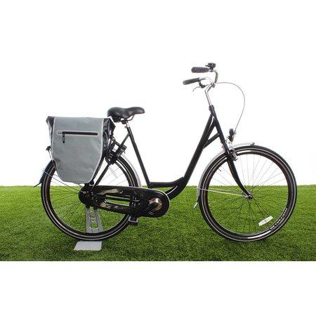 Beck Enkele fietstas DR.Y 20L Zwart/Zilver