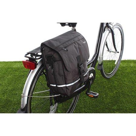 Beck Enkele fietstas YES! Zwart | fijne details | sportief én woon-werk