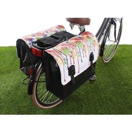 Beck Dubbele fietstas Classic Drippy 46L