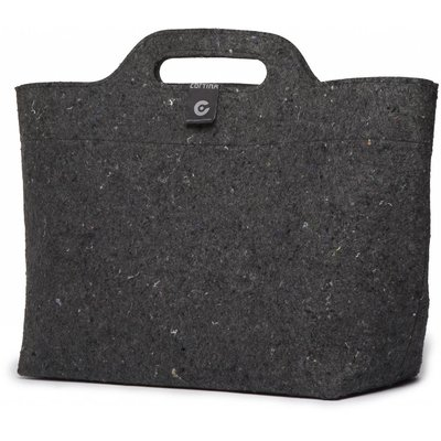 Cortina Sofia Shopper Bag 18L Black/Antra
