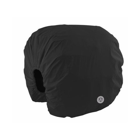 AGU Regenhoes Essentials Zwart XL voor dubbele achtertassen