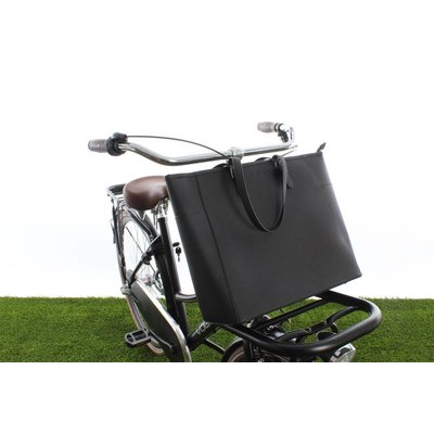 Cortina Milan Handbag Black 23L - handtas voor voordrager