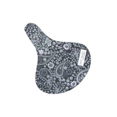 Hooodie Zadeldekje Blackish Pattern - waterafstotende zadelhoes fiets