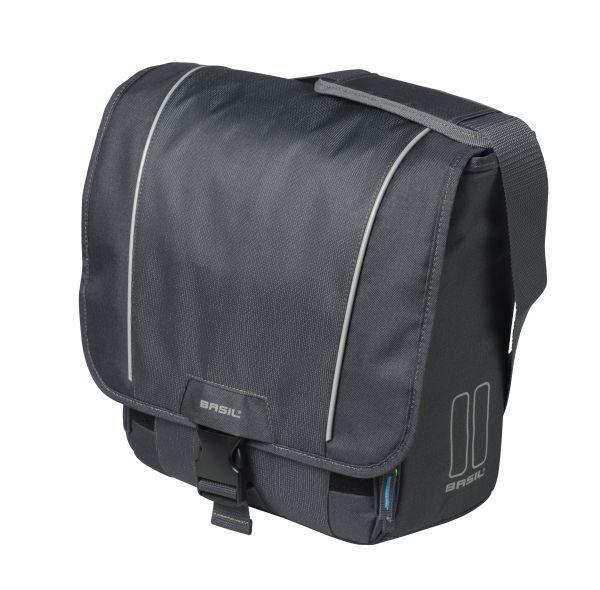 9b5aa4954d8 Basil Commuter Bag Sport Design 18L Grijs - Fietstas.com