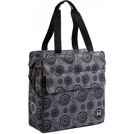 Willex Vortex Shopper Grijs/zwart - 17 liter
