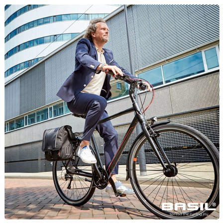 Basil Commuter Bag Sport Design 18L Zwart