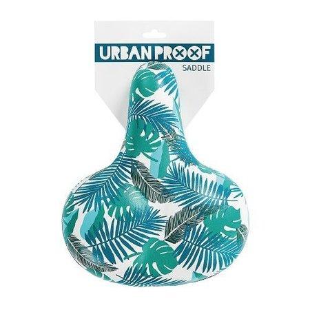 Urban Proof Fietszadel Leaves - zadel in bladergroen
