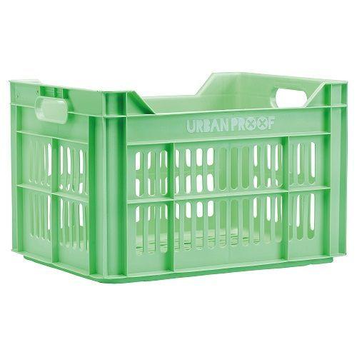 Fietskrat 30L Pastel Green kopen met voordeel