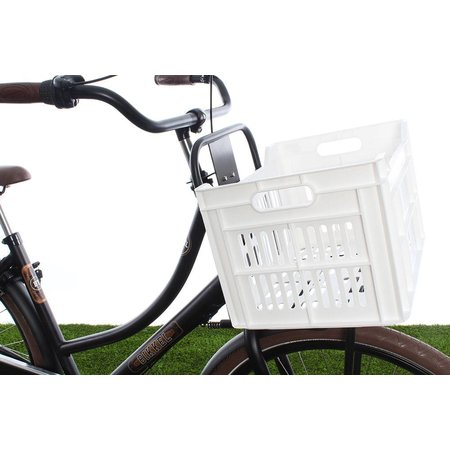 Urban Proof Fietskrat 30L White - helder wit!
