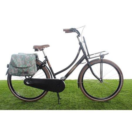 New Looxs Dubbele fietstas Joli Double 37L Zarah Green